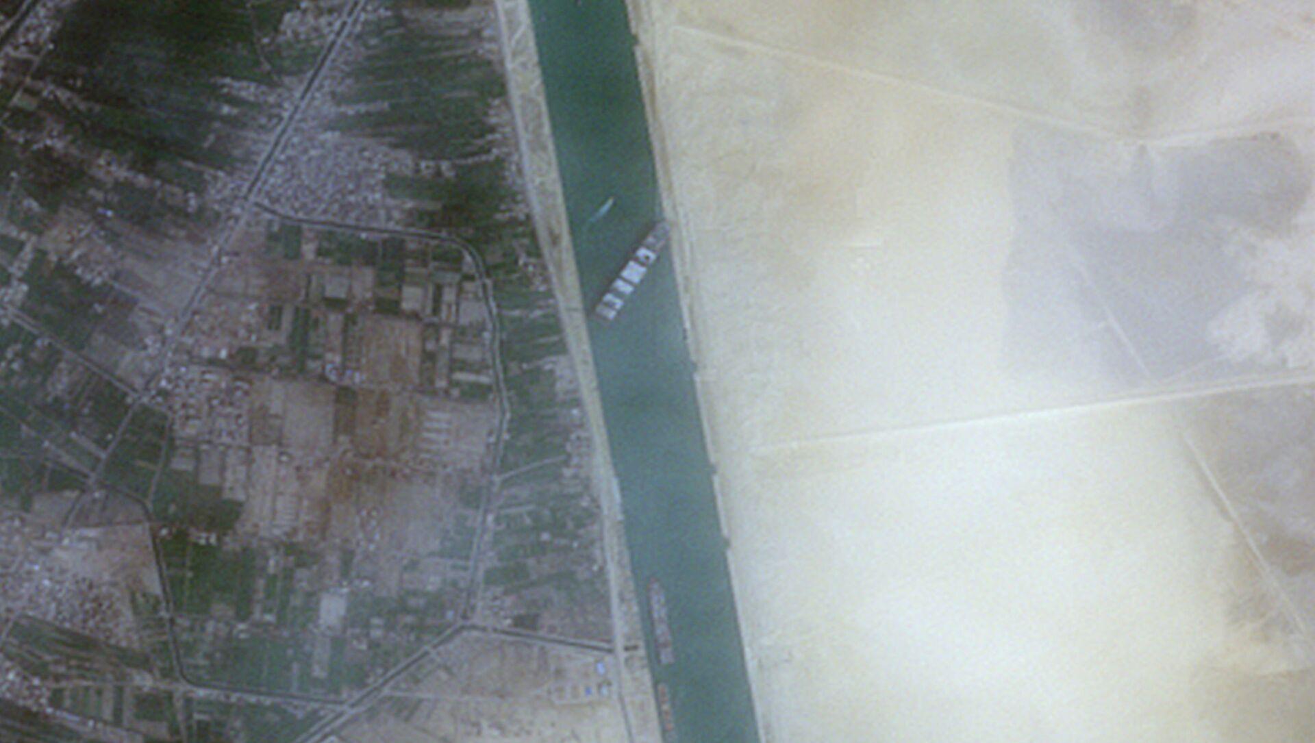 La situation dans le canal de Suez - Sputnik France, 1920, 25.03.2021