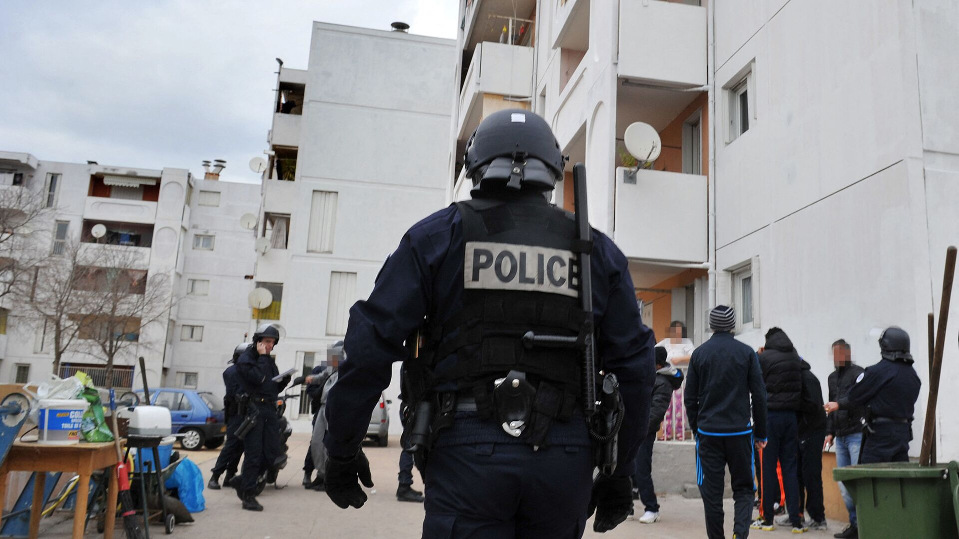 Des policiers français - Sputnik France, 1920, 20.08.2021