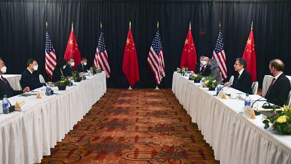 Rencontre des diplomaties américaine et chinoise en Alaska le 18 mars - Sputnik France