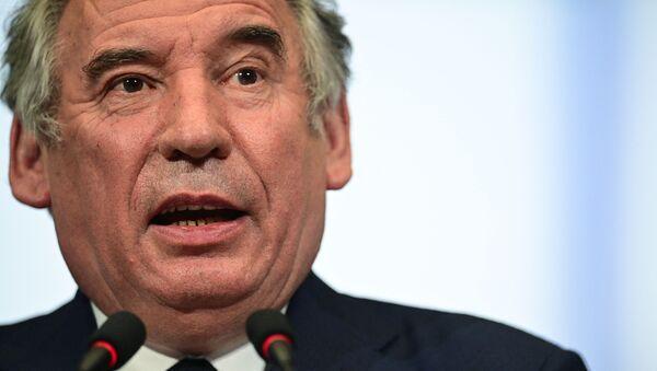 Haut Commissaire du plan, François Bayrou - Sputnik France