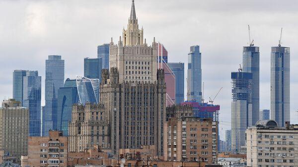 Le siège du ministère russe des Affaires étrangères - Sputnik France