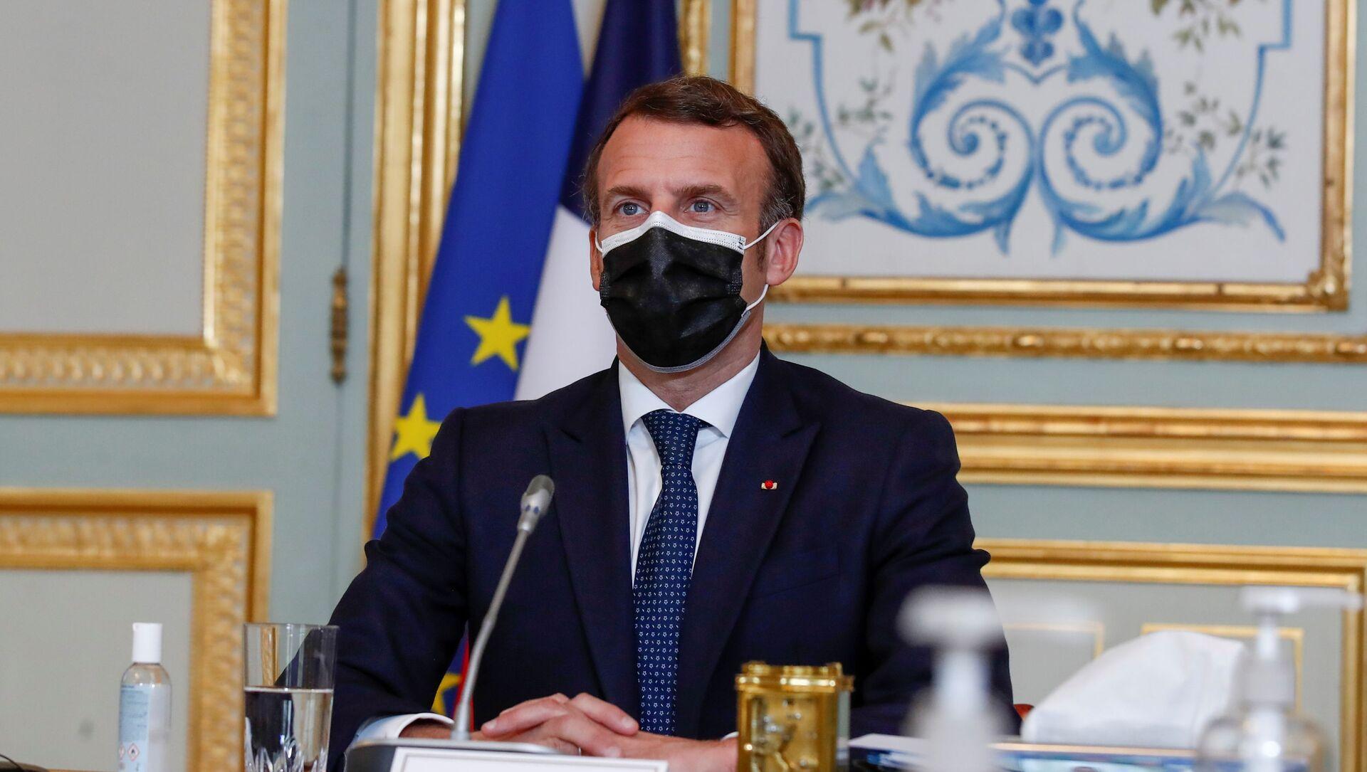 Emmanuel Macron, archives - Sputnik France, 1920, 04.04.2021