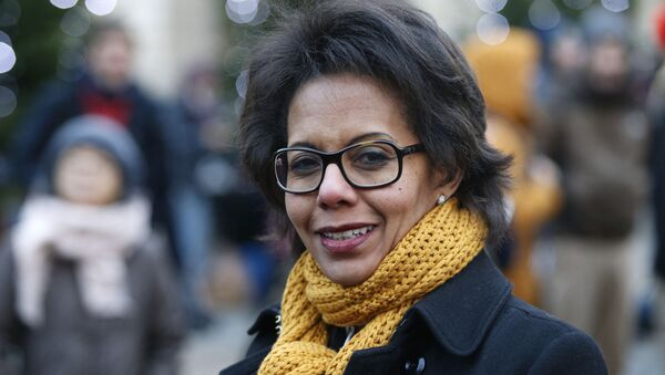 La tête de liste du Parti socialiste aux élections régionales en Île-de-France, Audrey Pulvar  - Sputnik France