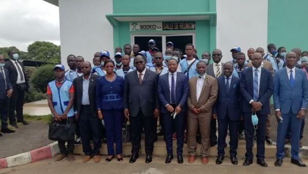 La brigade des enquêteurs du ministère de l'Hydraulique ivoirien - Sputnik France