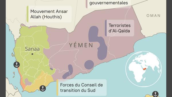 Répartition des forces au Yémen - Sputnik France