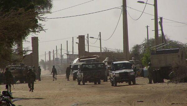 Un poste de contrôle au Mali (archive photo) - Sputnik France