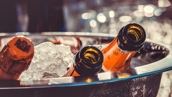 Des bouteilles de champagne - Sputnik France