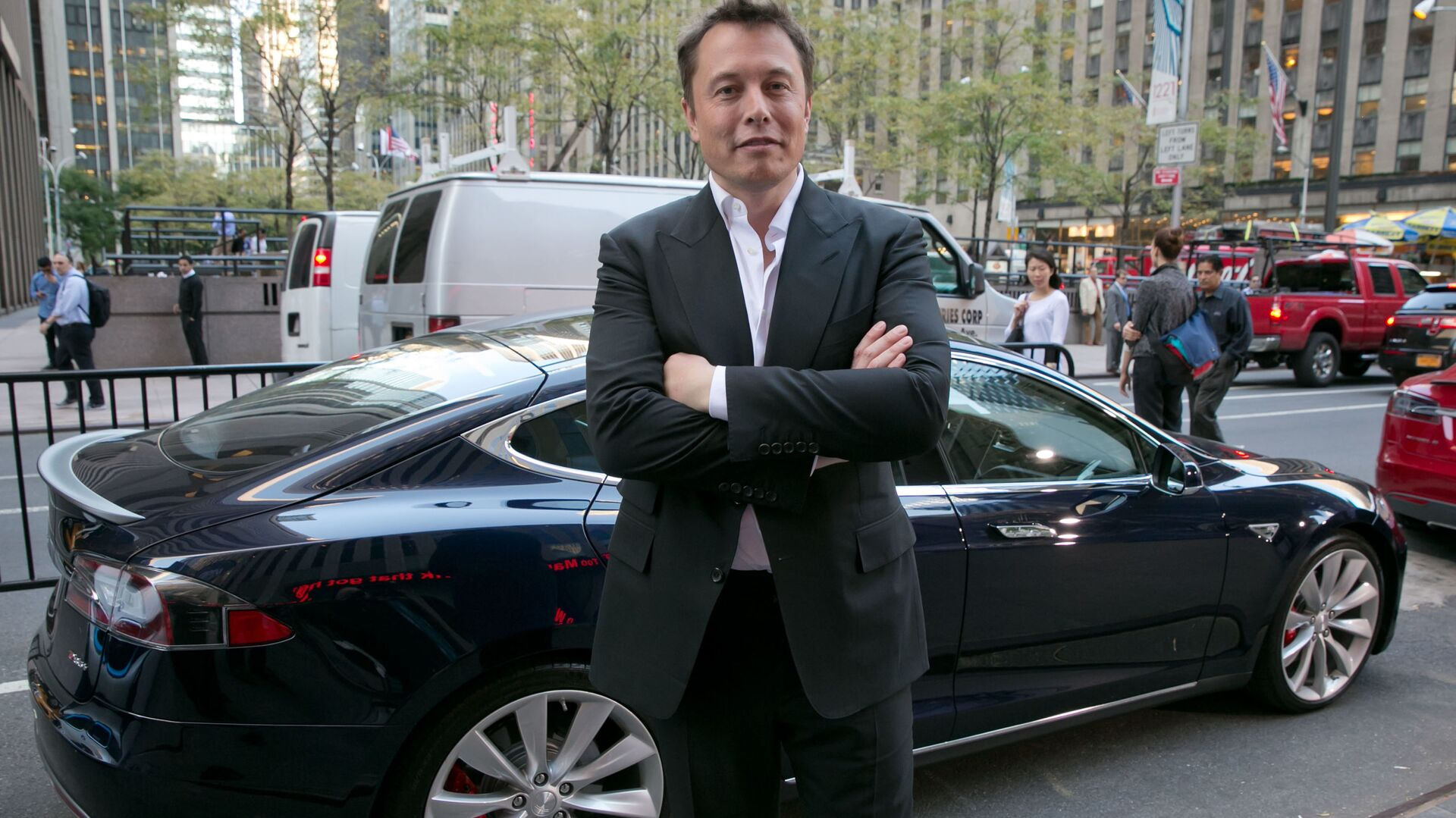 Elon Musk - Sputnik France, 1920, 20.08.2021