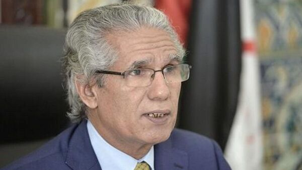 Mohamed Ould Salek, ministre des Affaires étrangères de la RASD  - Sputnik France