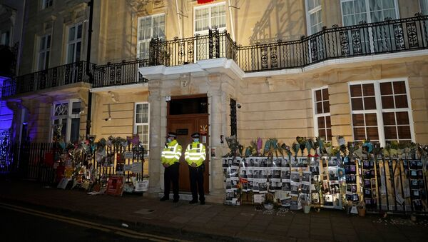l'ambassade birmane à Londres - Sputnik France