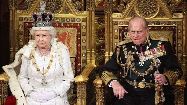 Le prince Philip et la reine Élisabeth II - Sputnik France