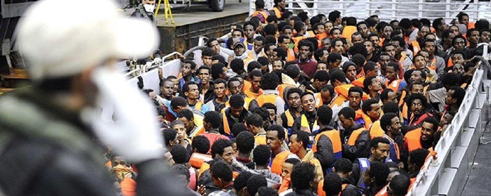Le drame de l'immigration clandestine en France et en Europe - Sputnik France, 1920, 21.07.2021