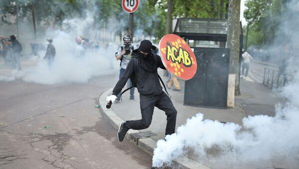 Une manifestation anti police à Nantes, juin 2016 - Sputnik France