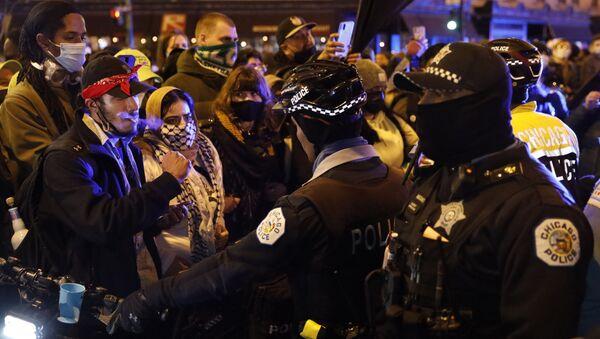 Manifestation à Chicago - Sputnik France