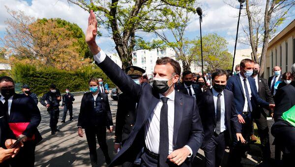 Emmanuel Macron à Montpellier - Sputnik France