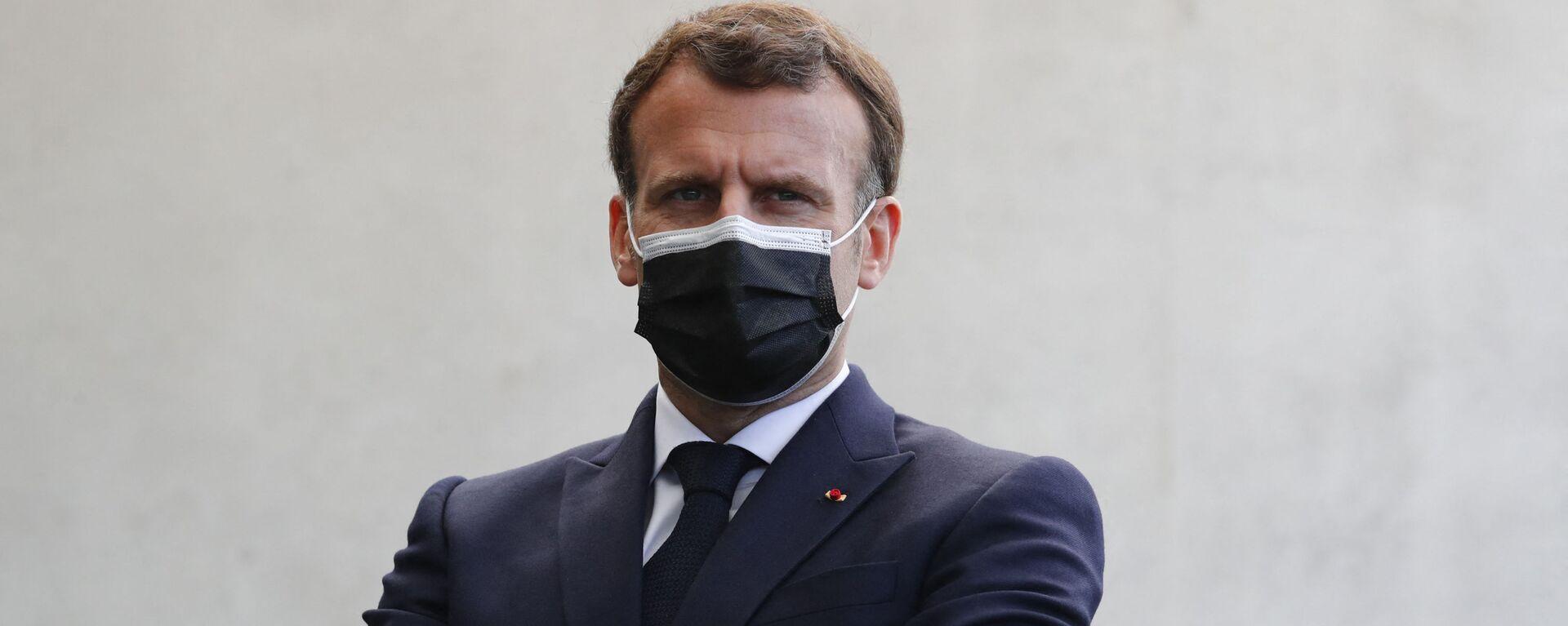 Emmanuel Macron - Sputnik France, 1920, 22.07.2021