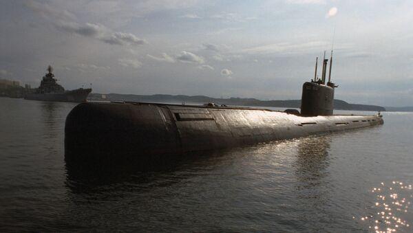 Un sous-marin de la Flotte du Nord russe (archive photo) - Sputnik France