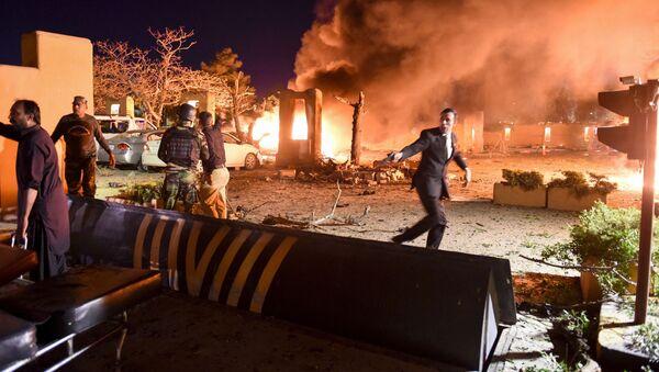 Explosion dans un hôtel de luxe au Pakistan   - Sputnik France