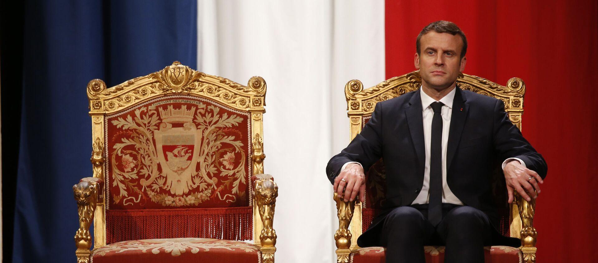 Emmanuel Macron - Sputnik France, 1920, 22.06.2021