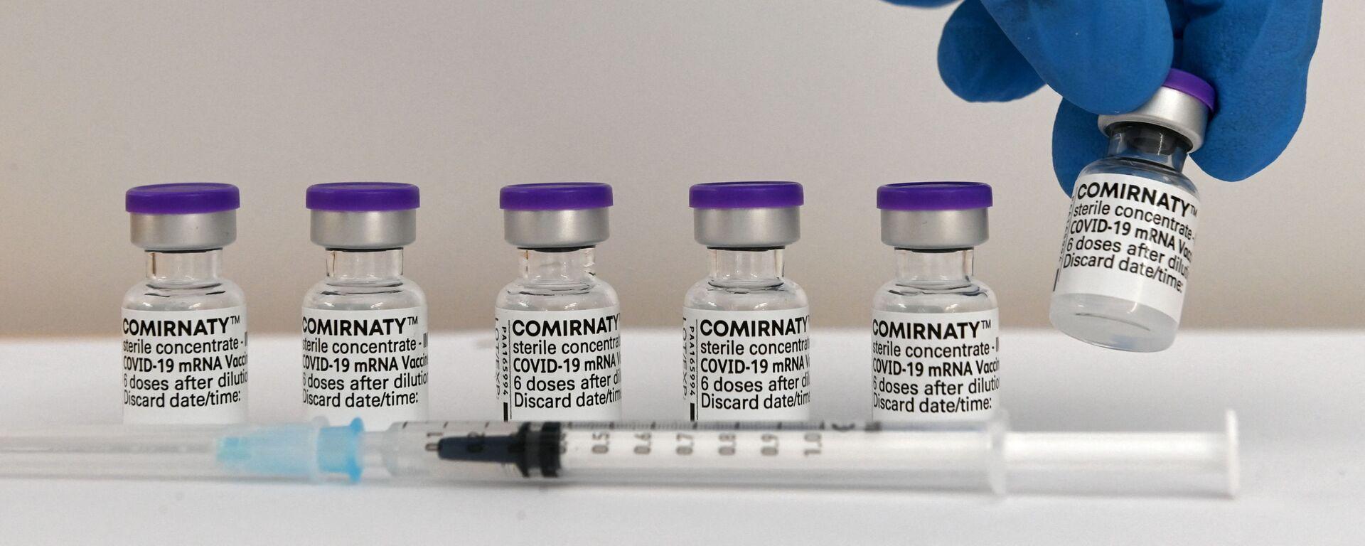 Vaccin Pfizer BioNTech - Sputnik France, 1920, 18.08.2021