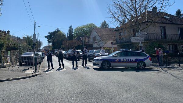 Situation au commissariat de Rambouillet après l'attaque au couteau, 23 avril 2021 - Sputnik France