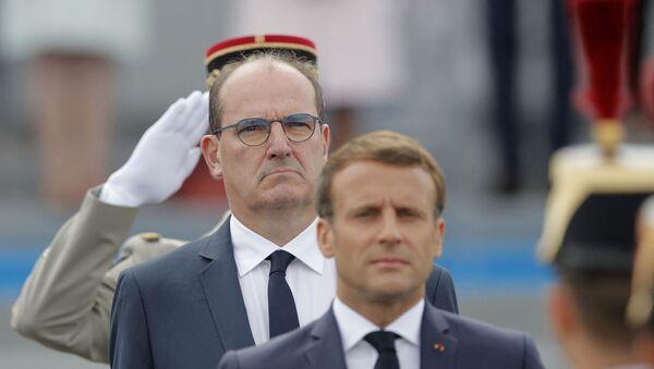 Emmanuel Macron et Jean Castex - Sputnik France