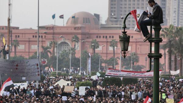 Protestations en Égypte, 2011 - Sputnik France