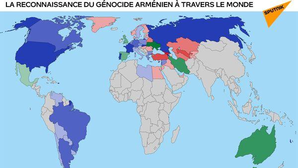La reconnaissance du génocide arménien à travers le monde - Sputnik France