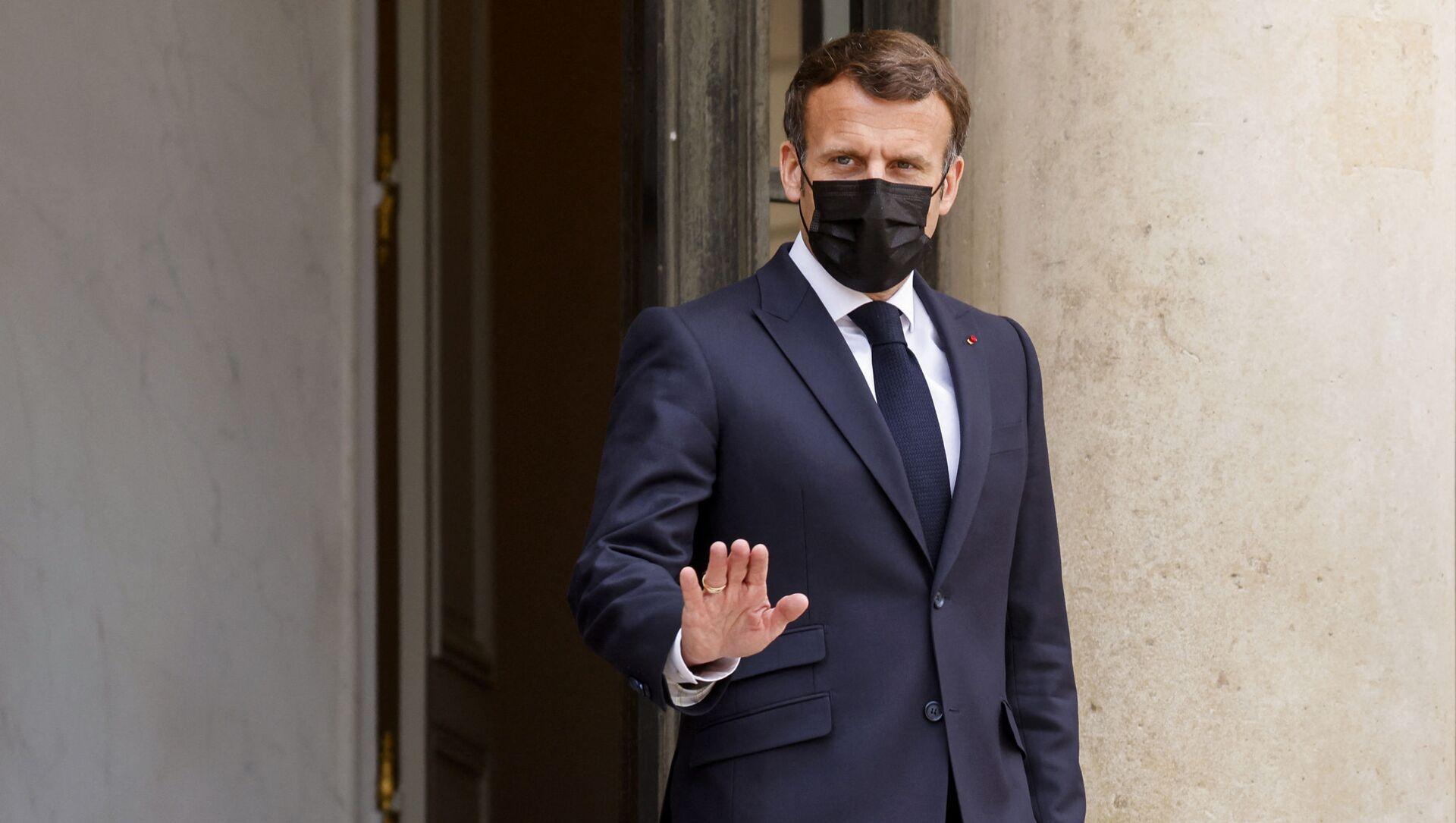 Emmanuel Macron - Sputnik France, 1920, 02.09.2021