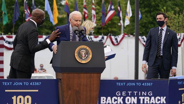 Joe Biden, le 29 avril 2021 - Sputnik France