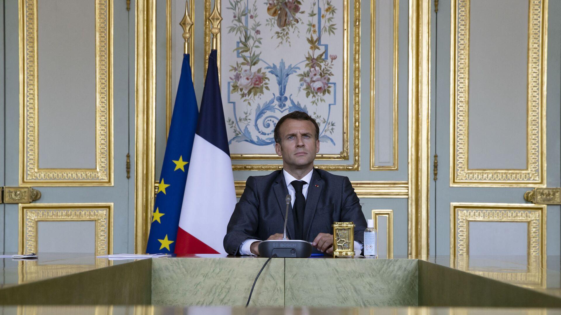 Emmanuel Macron - Sputnik France, 1920, 21.09.2021