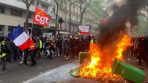 Manifestation du 1er mai à Paris, 2021 - Sputnik France