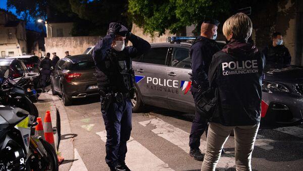 des policiers à Avignon, le 5 mai 2021 - Sputnik France