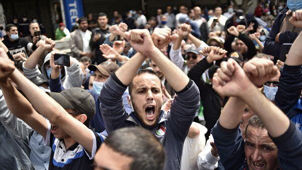 Manifestation en Algérie, image d'illustration - Sputnik France