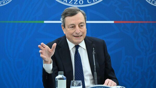 Le Premier ministre italien Mario Draghi - Sputnik France