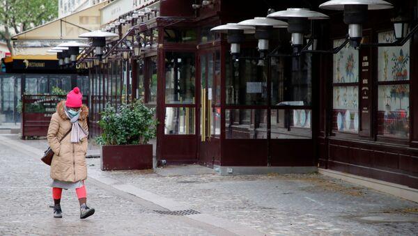 Paris durant la pandémie (photo d'archives) - Sputnik France