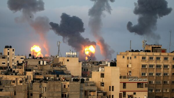 La tension monte entre Israël et le Hamas - Sputnik France