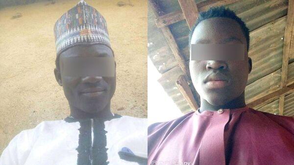 Mineurs enlevés par Boko Haram au Tchad, Abdelkadri Aboukar Kallah ( à gache) livre son histoire. - Sputnik France