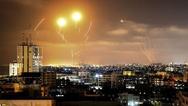 Nuits «blanches» du conflit israélo-palestinien   - Sputnik France