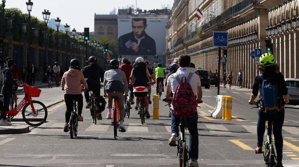 Des cyclistes (image d'illustration) - Sputnik France