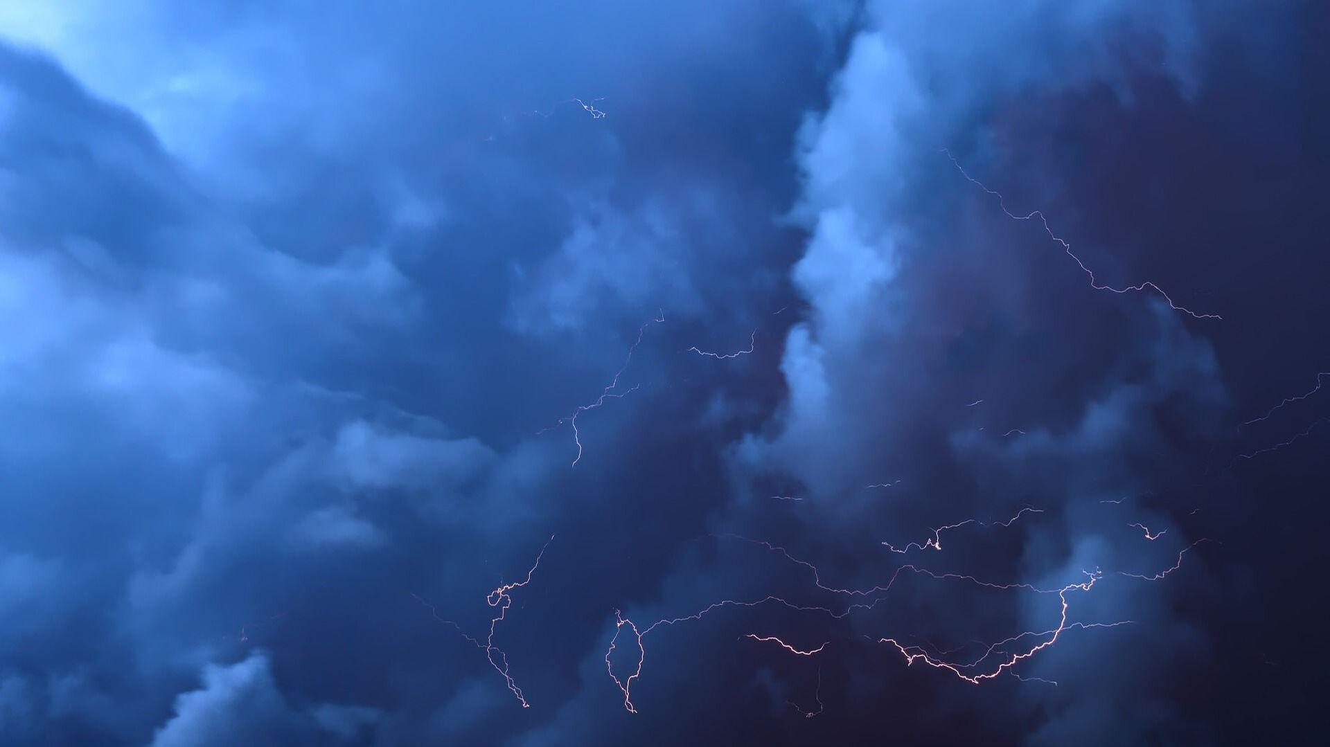 Orage, éclairs, nuages - Sputnik France, 1920, 10.09.2021