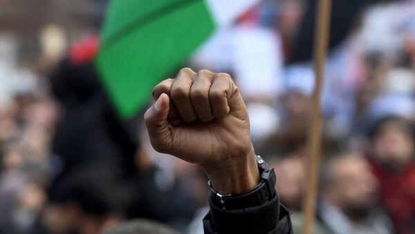 une manifestation en soutien aux Palestiniens  - Sputnik France