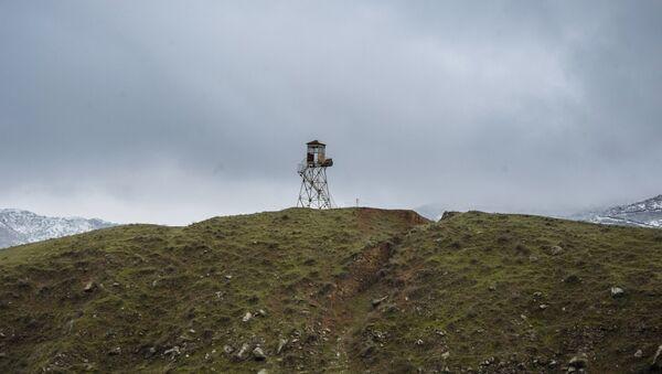 Un poste à la frontière entre l'Iran et l'Azerbaïdjan - Sputnik France
