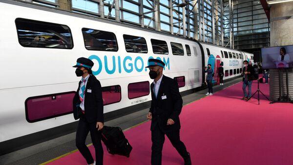 Ouigo SNCF - Sputnik France