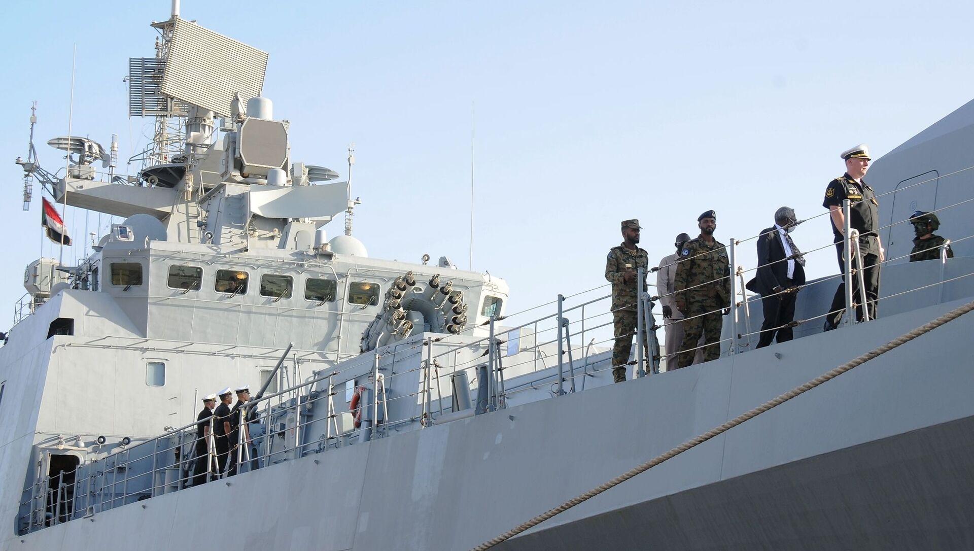La frégate russe Amiral Grigorovitch est entrée à Port-Soudan, une première dans l'histoire moderne de la Russie - Sputnik France, 1920, 28.02.2021