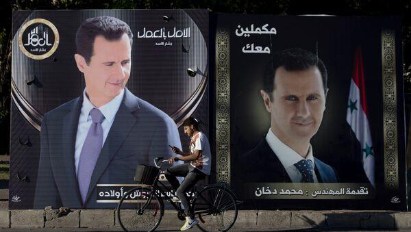 Préparatifs des élections présidentielles en Syrie  - Sputnik France