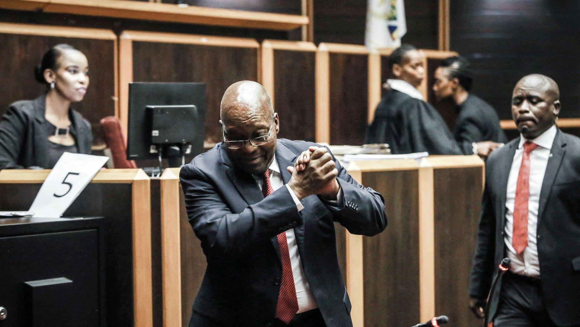 Jacob Zuma, l'ancien président sud-africain - Sputnik France, 1920, 06.08.2021