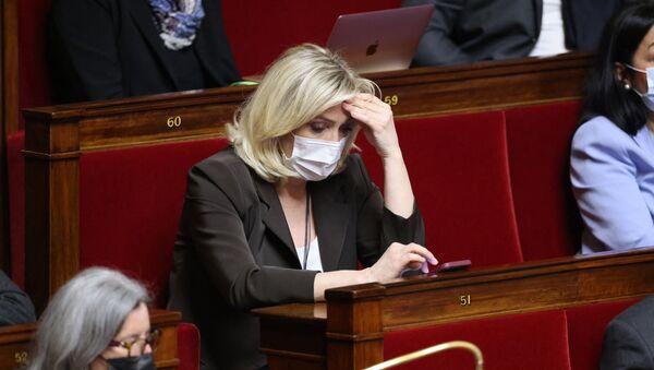 Marine Le Pen à l'Assemblée nationale, le 18 mai 2021 - Sputnik France