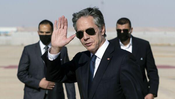 Le Secrétaire d'Etat américain Antony Blinken  - Sputnik France