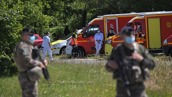 Attaque contre une policière à La Chapelle-sur-Erdre, le 28 mai 2021 - Sputnik France
